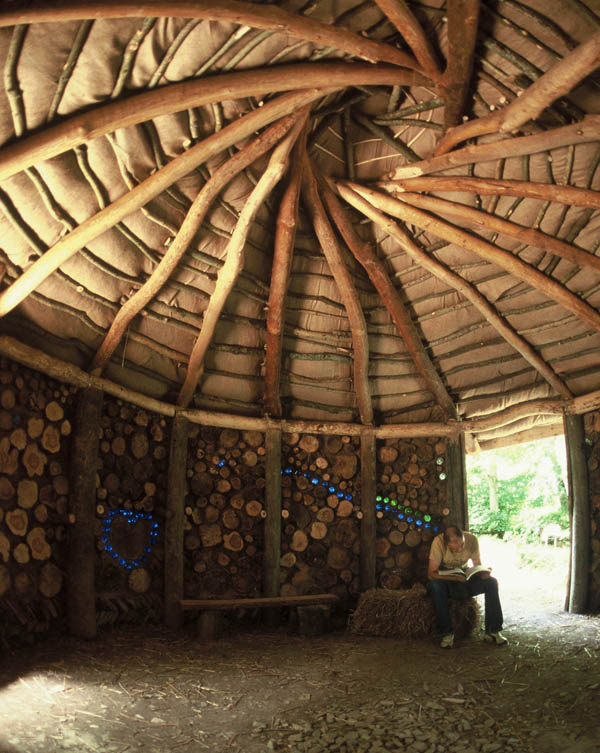 Reciprocal Roof Roundhouse Wholewoods