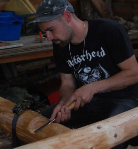 roundwood timber framing course5